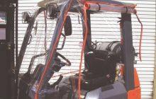 Atrium Forklift Enclosure