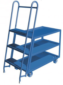 Canway 3 shelf stock picker cart