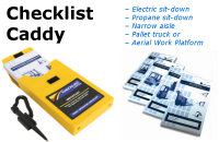 Forklift Checklist Caddy