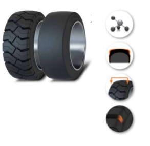 Forklift Tire - Press-on
