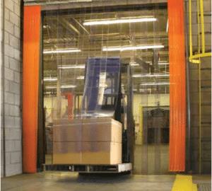 PVC Strip Door Material