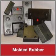 molded rubber dock bumper