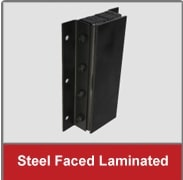 steel_faced laminate dock bumper