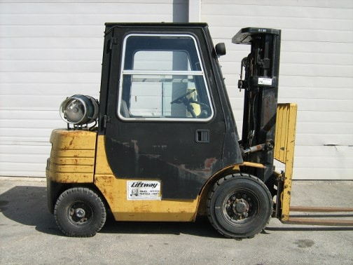 Used Forklift - Caterpillar GP25