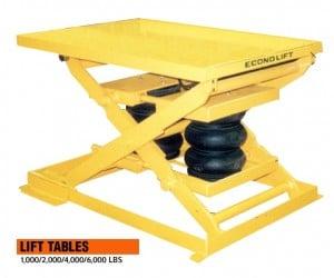 Pneumatic Lift Table