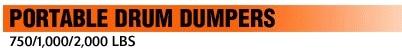 Portable Drum Dumpers