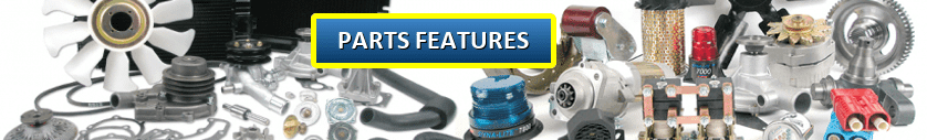 Forklift parts features