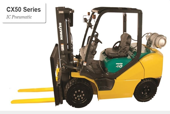 Komatsu CX50 series Pneumatic Forklift