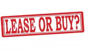 Lease versus buy text