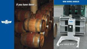 Cascade Wine Barrel Handler
