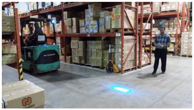 LED Blue safety light_01