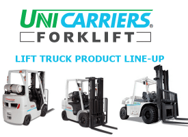 Unicarrier Product line-up