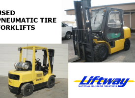 Used Pneumatic Tire Forklifts