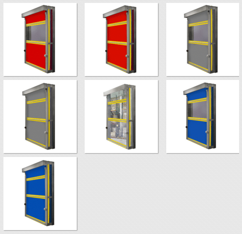 Ironguard door configurations
