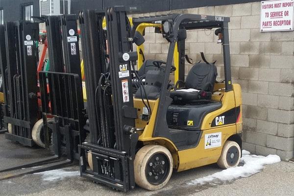 Used Caterpillar Forklift