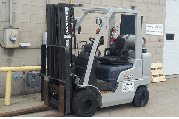 Unicarriers Used Forklift