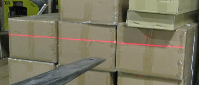 Laserforks - laser line