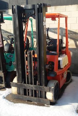 Used Forklift - Toyota - 42-4FGC25