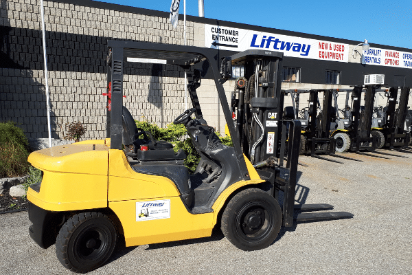 Used Caterpillar Forklift