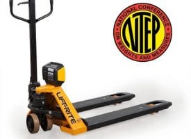 Liftrite pallet truck with scale