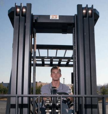 Komatsu EZview Forklift Mast