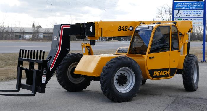 Loadlifter 842-G Telehandler Reach Forklift