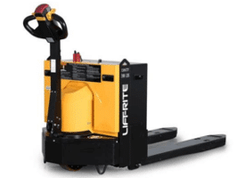 Lift-rite motorized pallet truck