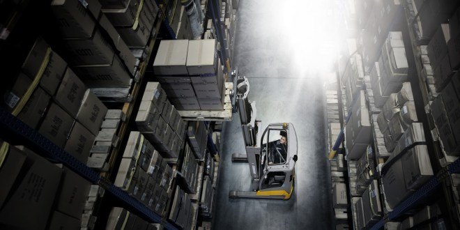 Reaching for Additional Space - reach truck