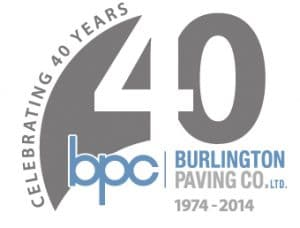 Burlington paving company