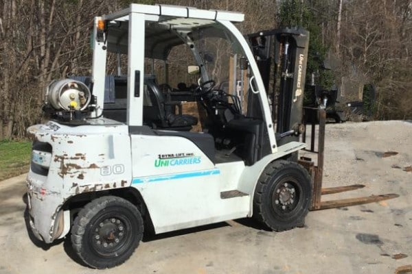 Used Forklift | U7113Unicarriers PF80YLP8,000 lb cap. | 157″ lift