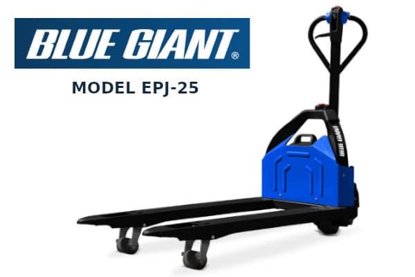 Blue Giant EPJ-25 Electric pallet truck