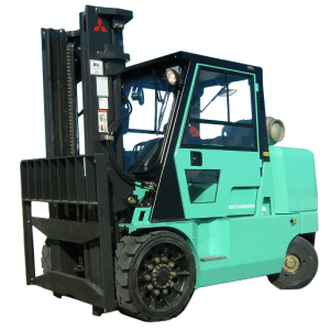 Mitsubishi Forklift with cab